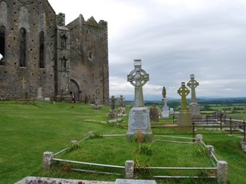 Rock of Cashel Cemetery in Ireland 2